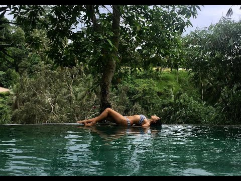 Luxury Sanctuary River Villa Tour in Ubud Bali Indonesia