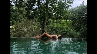 $300 Per Night Luxury River Villa Tour in Ubud Bali Indonesia