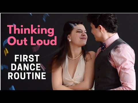 """Easy Wedding Dance Routine to """"Thinking Out Loud"""""""