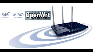 how to install openwrt and luci web gui to tp link tl wr1043nd v3 router