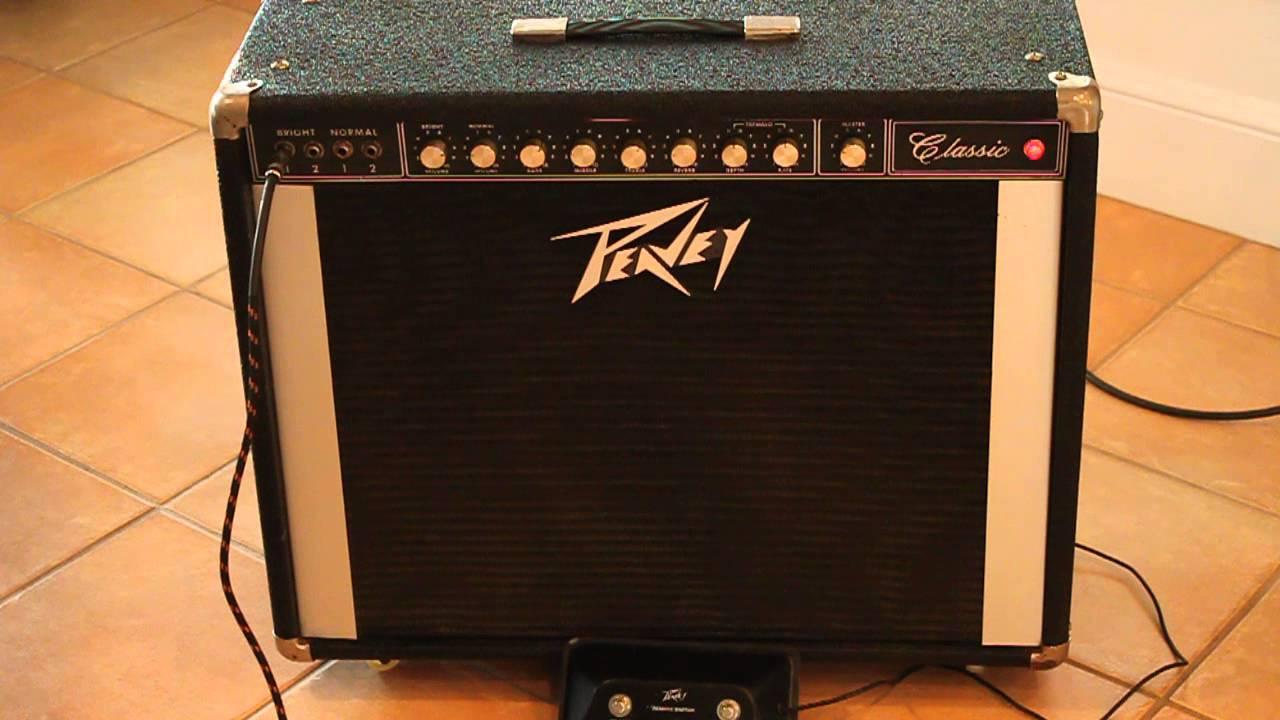 Vintage Peavey Classic amp