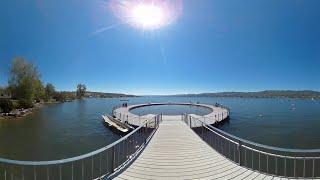 Visit Zurich - Switzerland - 360° Video(Zurich in Switzerland at the beautiful Zurich Lake, home of Google Europe, Eidgenössisch-Technische Hochschule (ETH), where tech meets traditional ..., 2016-05-22T17:40:17.000Z)