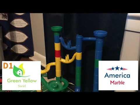 2017-18 Timed Race round 6: D1 Green Yellow Swirl vs America