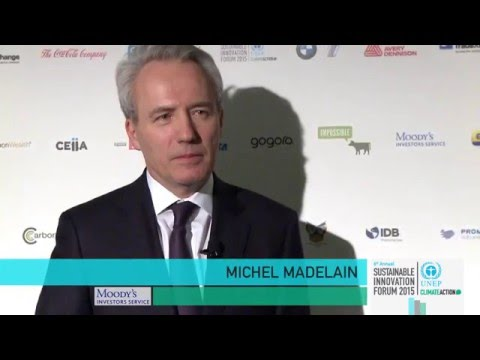 COP21 Climate Leader Interview, Michel Madelain, Moody's Investors Service