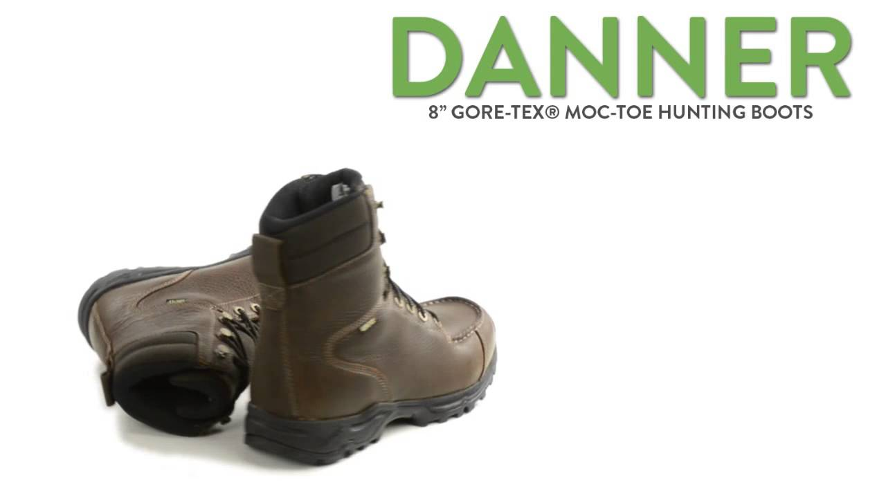 "Danner Fowler 8"" Gore-Tex® Moc-Toe Hunting Boots - Waterproof (For"