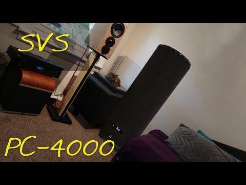 Z Review - SVS PC-4000 [~Earthquake Simulator 2018~]