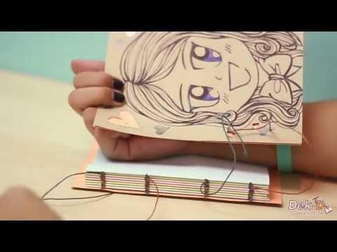 Cool idea :สมุดทำมือสุดกิ๊บเก๋ เล่มเดียวในโลก!