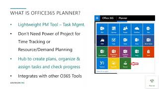 How to Manage Agile Projects withO365 Planner | Webinar Wednesday