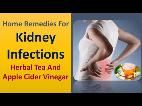 home-remedies-for-kidney-infections---herbal-tea-and-apple-cider-vinegar