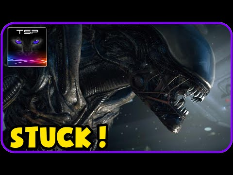 Alien Isolation - Alien Got Stuck !