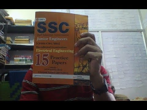 BEST BOOKS FOR SSC JE ELECTRICAL 2017 EXAM