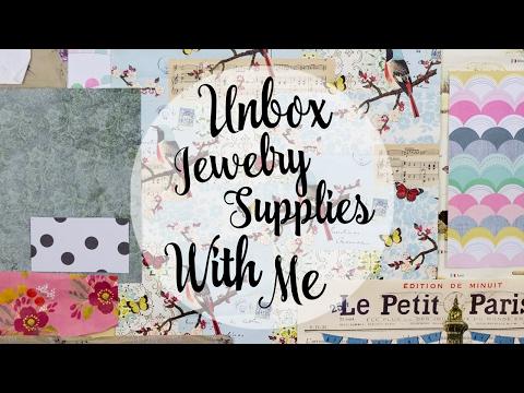 Jewelry Supplies Haul
