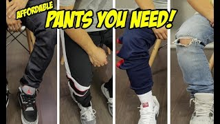 7 AFFORDABLE PANTS & SHORTS EVERY GUY NEEDS!
