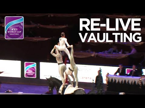RE-LIVE   FEI World Cup™ Vaulting - 1st competition   Salzburg - Amadeus Horse Indoors