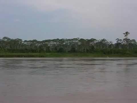 Ucayali River aboard the El Evangelista mission boat