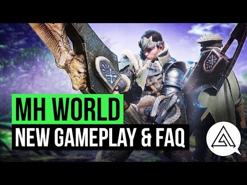 Monster Hunter World New Gameplay & Your Questions Answered