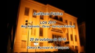 Aud Pub LOA 2017 20-10-2016 PERÍODO TARDE