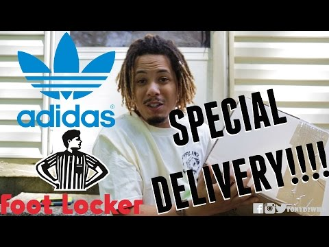 cemento simpático Monumento  SPECIAL DELIVERY!! Unboxing The Adidas Climacool 1 - YouTube