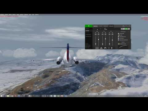 Part two of two: Tfdi 7171 from Orbx KJAC - to Pacsim KSLC