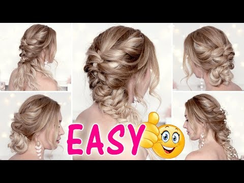 EASY and CUTE HAIRSTYLES for medium/long hair tutorial ★ Back to school thumbnail