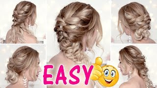 EASY and CUTE HAIRSTYLES for medium/long hair tutorial ★ Back to school