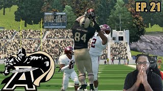 DOWN TO OUR 3RD STRING QB!! | ARMY REBUILD DYNASTY NCAA FOOTBALL 14 EP21