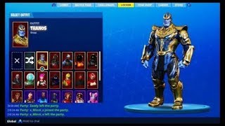 HOW TO HAVE THE SKIN THANOS / FORTNITE