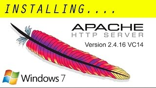 Installing Apache 2.4.16 VC 14 (Windows 7)