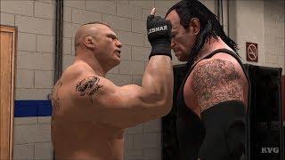 WWE 2K19 - Brock Lesnar vs Undertaker - Backstage Brawl Gameplay (PC HD) [1080p60FPS]