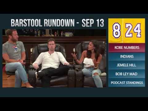 Barstool Rundown - September 13, 2017