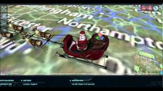 Norad Santa Tracker - The UK in 2014