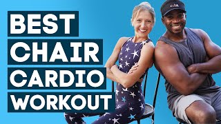 Chair Cardio HIIT Workout with Donovan Green of ChairWorkouts