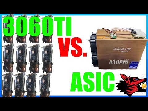 3060ti Rig VS. A ASIC Miner A10 Pro+
