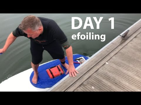 DIY Electric Hydrofoil Part 20 - His First Time!