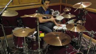 Mana Clavado En Un Bar Drum Cover