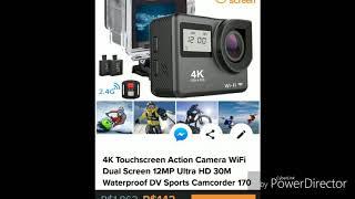 Comprei uma Action Câmera 4k na Wish, será que valeu a pena???