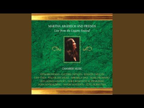 Piano Quintet in E-Flat Major, Op. 44: IV. Allegro ma non troppo (Live)