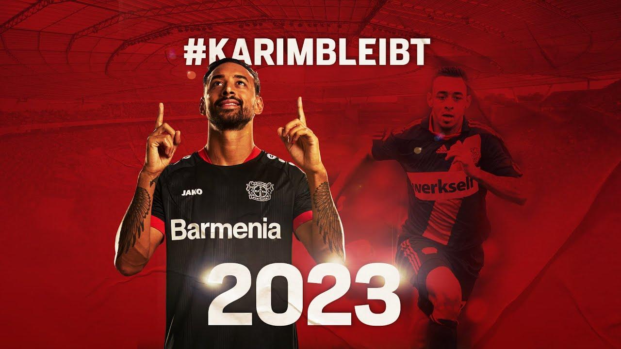 #KarimBleibt   Bellarabi verlängert bis 2023 bei Bayer 04 Leverkusen