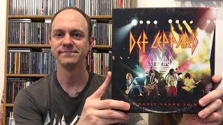 Def Leppard - The Early Years 79-81 - Boxset Review & Unboxing