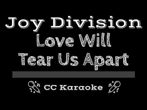 Joy Division • Love Will Tear Us Apart (CC) [Karaoke Instrumental Lyrics]