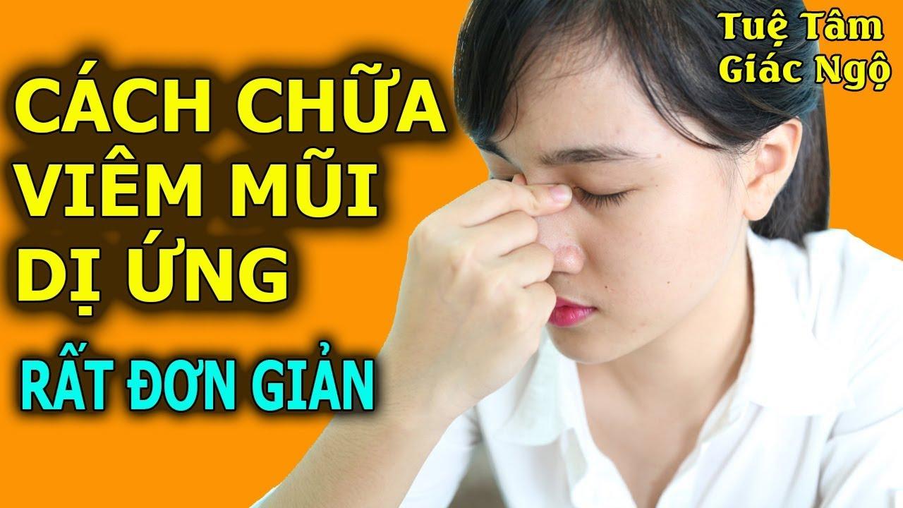 Danh Y Trung Quốc Chỉ Cách Chữa Viêm Mũi Dị Ứng Rất Đơn Giản Và Hiệu Quả
