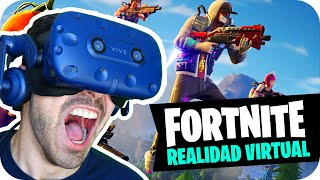 FORTNITE IN VIRTUAL REALITY! Rec Room Battle Royale
