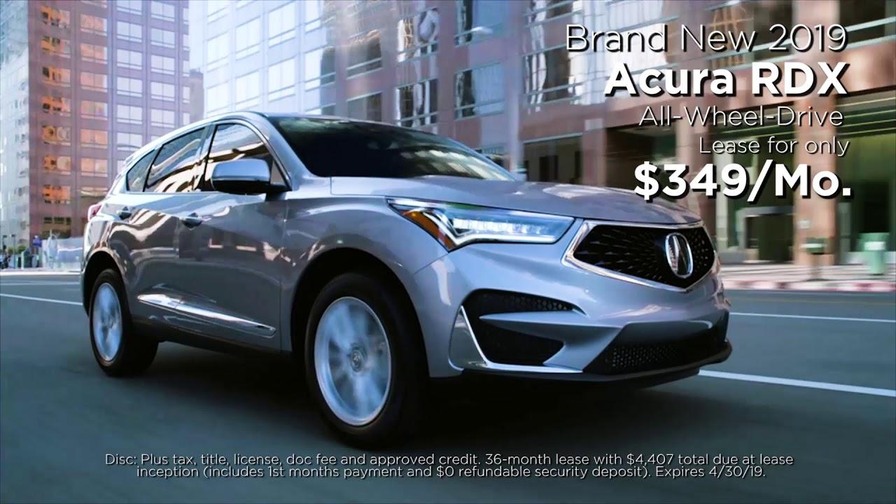 Fort Wayne Acura >> Fort Wayne Acura April 2019 Youtube