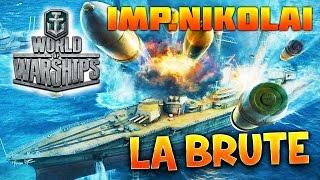 WORLD OF WARSHIPS - Imperator Nikolai I, La Brute - Gameplay avec Fanta PC HD FR