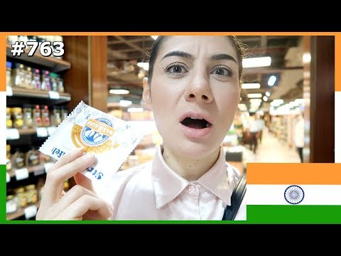 INDIAN SUPERMARKET FOOD SURPRISE BENGALURU DAY 763 | TRAVEL VLOG IV