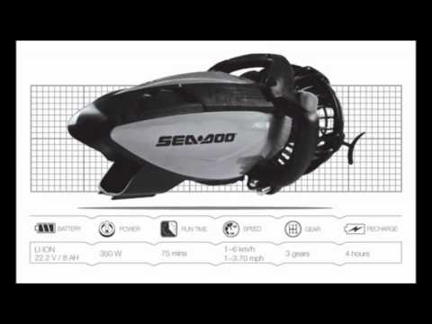Sea-Doo Seascooter RS Series Waterscooter