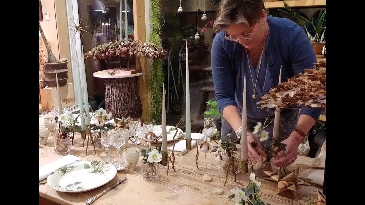Elisabeth Bønløkke laver julebord