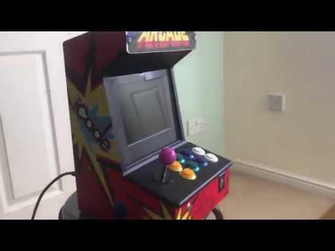 Repeat Raspberry Pi 3 Arcade Machine by Alfie Tennant