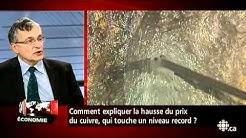 Gérald Fillion - Cuivre : prix record
