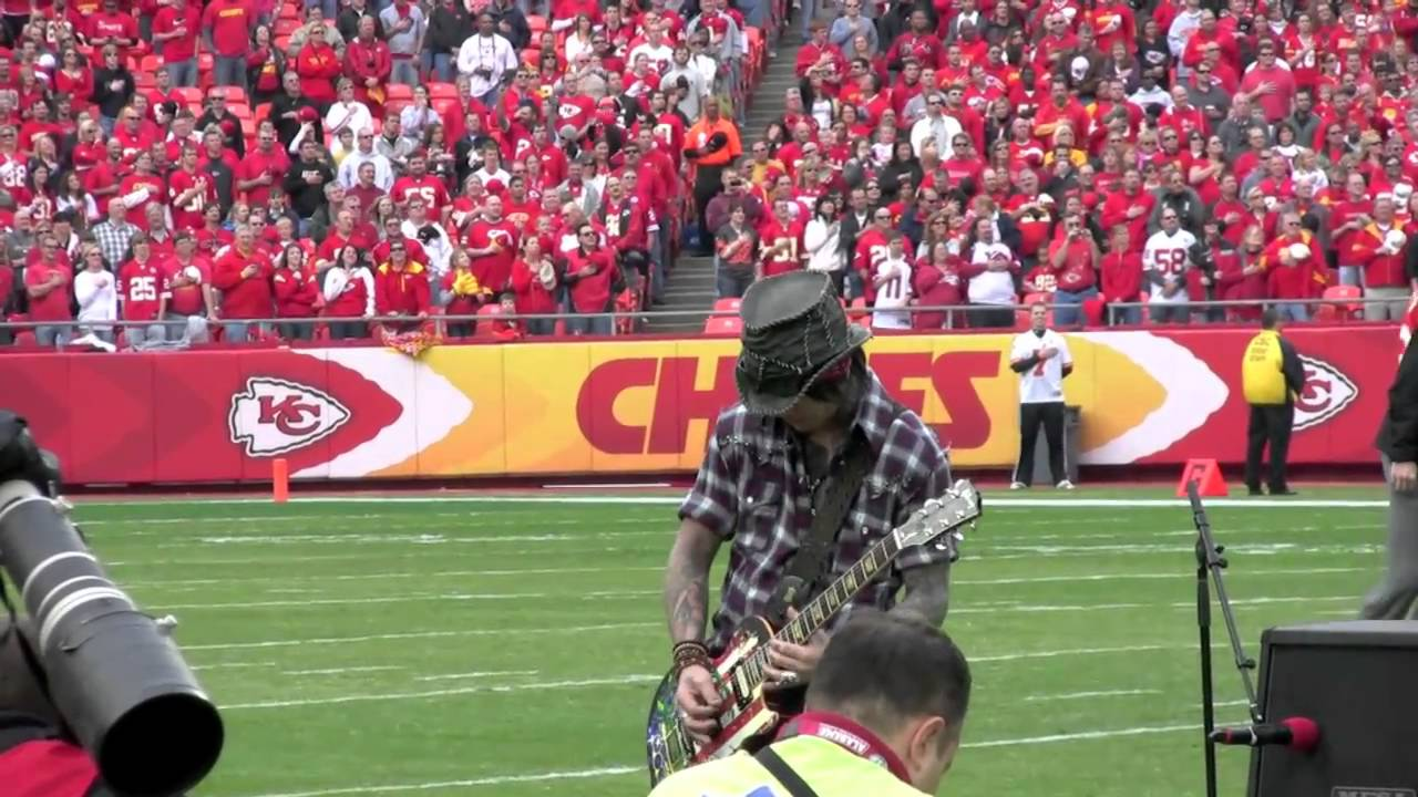 Dj ASHBA Performing the National Anthem